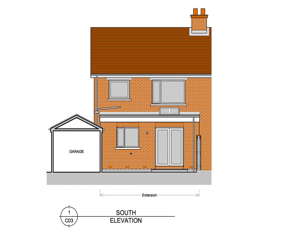Detached home designs East Belfast
