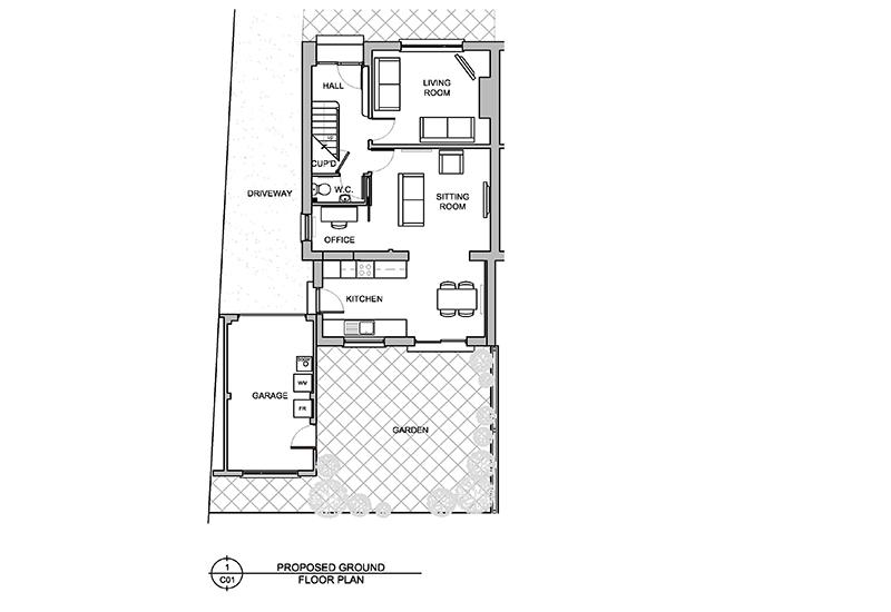 East Belfast Home design