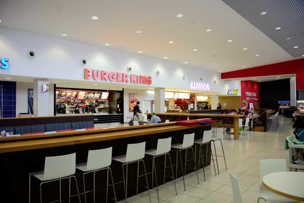 Food Court Unit Kennedy Centre Belfast Alastair Macnab Architects