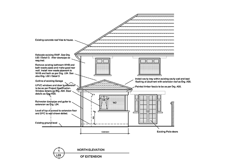 East Belfast private home designs