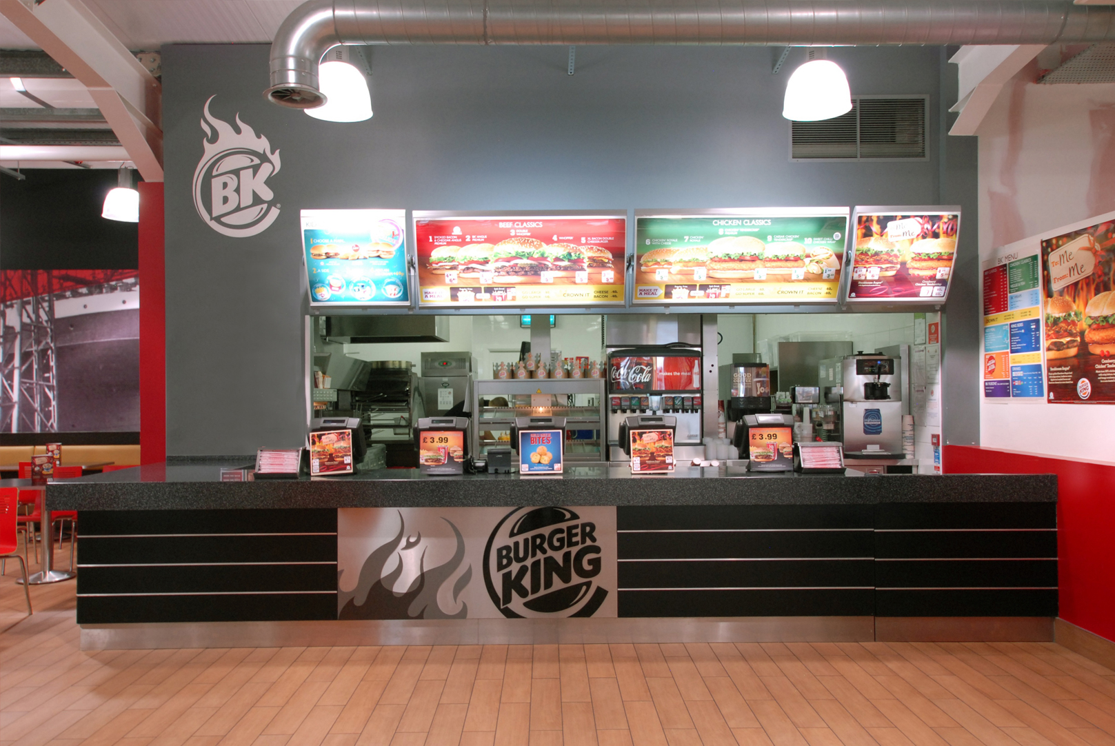 Trends interior design 2017 - Burger King Restaurant Design Boucher Retail Park Belfast