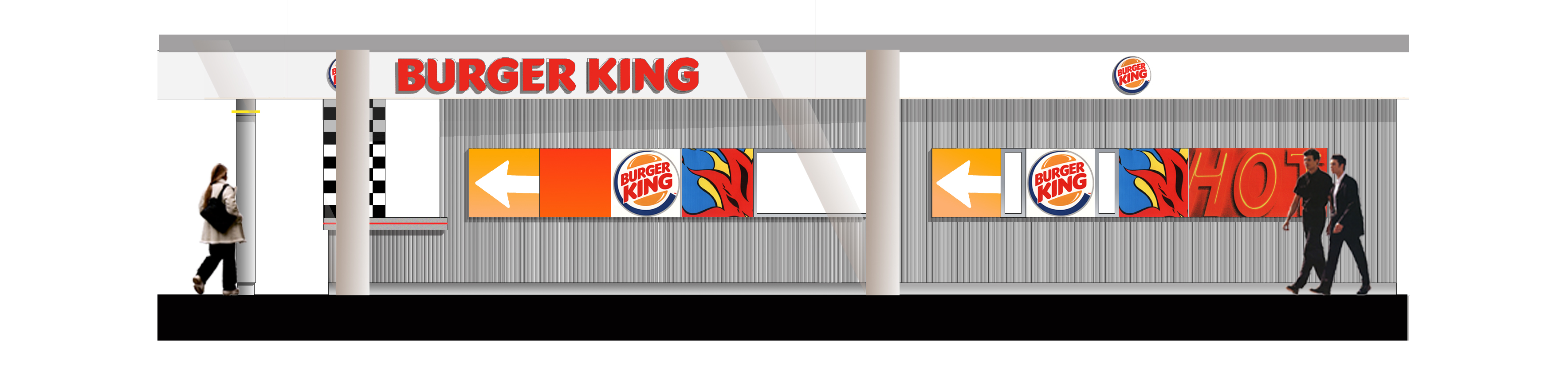 Burger King design coleraine