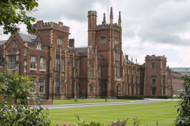Belfast architecture - Queens University