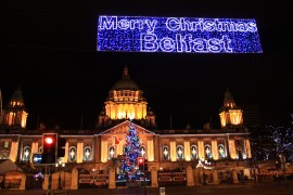 Belfast at Christmas