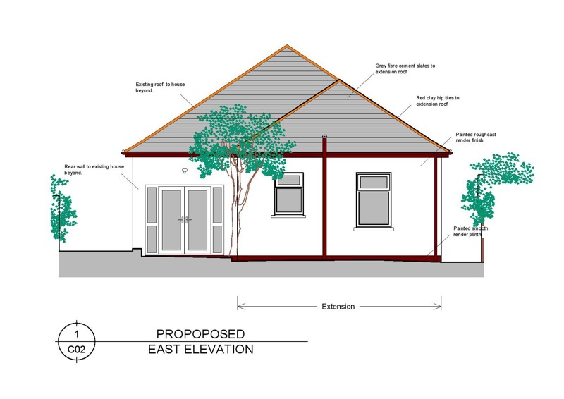 Domestic Home extension Dundunold